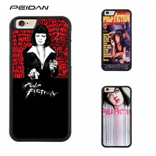 PEIDAN pulp fiction Full Protective cover cell phone case for iphone X 4 4s 5 5s 6 6s 7 8 6 plus 6s plus 7 plus 8 plus #ee383(China)