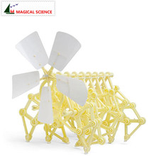 Theo Jansen Mini Strandbeest Model wind power beast diy educational toys handmade Science experiment Toys child birthday gift