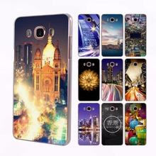 Hong Kong Sunset Skyscraper City transparent clear hard case cover for Samsung Galaxy J7 J5 J3 J2 J1 J7 2016 J7Prime J5 2017 J2(China)