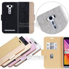 "Advanced Luxury Flip PU Leather Case Cover For Asus Zenfone 2 Laser ZE500KL (5.0"") Case Cell Phone Back Cover With Card Holder"