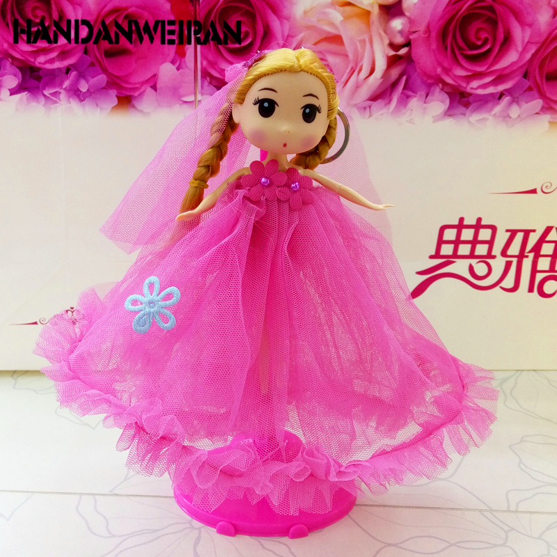 Fashion Handmade Clothes Dresses Grows Outfit for Barbie Princess Doll dress for girls Random Types and Colors Wholesale+retail(China)
