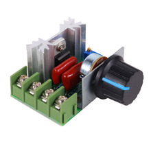 High Power Electronic Regulator PWM 2000W AC 50-220V 25A Adjustable Motor Speed Controller Voltage Regulator