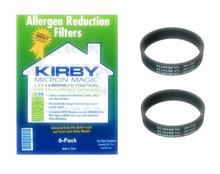 Fit for Kirby Micron Magic Universal HEPA Style F Allergen Bags - 6 Pack + 2 Belts