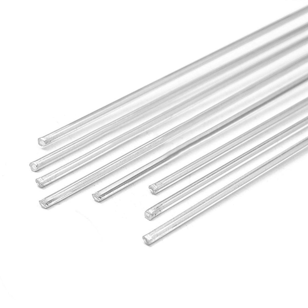Mayitr 8pcs 2mm*230mm Aluminium alloy Low Temperature Tig Welding Soldering Brazing Rods For Welding Tool