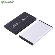 Aluminum Alloy Serial USB 2.0 SATA HDD Enclosure Case External 2.5 Inch Drive Box For Laptop Hard Disk Cover With Retail Package
