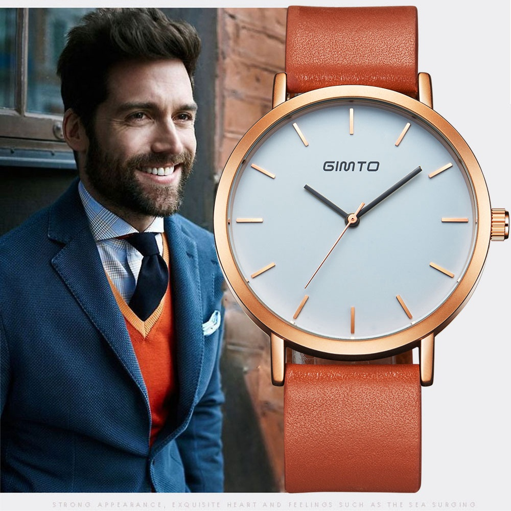 Men Watches Top Brand Luxury quartz-watch GIMTO Fashion Casual Business Watch men Wristwatches quartz Watch Relogio Masculino<br><br>Aliexpress