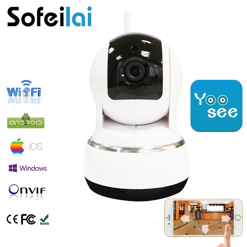 10801P HD WiFi Wireless IP Camera  Home Security Surveillance pan tilt Night Vision CCTV Yoosee Cameras infrared  P2P IPCam<br>
