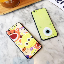 New Relief Emboss Phone Cases For iPhone 6 6 Plus 7 7 Plus Disneys All Colorful Cartoon Figure Buzz Light Year Mickey  -090118