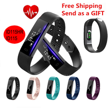 ID115 HR Smart Bracelet Fitness Tracker Sleep Monitor Track ID115HR mi Heart Rate Bracelet Bluetooth Sport Smart Band 2