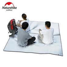 Naturehike Picnic Mat Portable Outdoor Folding Sleeping Mattress Mat Pad Waterproof Aluminum Foil Camping Mat XPE 2Sizes(China)