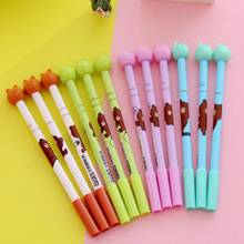 Funny Bear 0.5 Black Disappearing Ink Pen Friction Erasable Invisible Disappear Ball Pens Magic Joke Writting Pen For Kids GP032