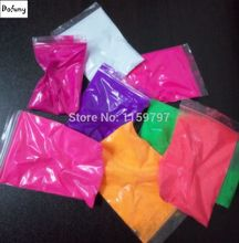 14 Colors 20g per color Fluorescent Powder Pigment Paint Cosmetic Lipstick Soap Neon powder Nail Glitters(China)