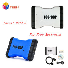 2017 Lowest Price New TCS CDP PRO 2014.R2 /2015.R3 Software Without Bluetooth Auto OBD2 Diagnostic Scan Tool CDP For Car Truck