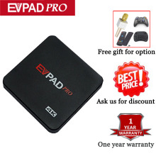 Evpad Pro Oversea Version With 8 Core Daul frequency Wifi 16G 4K Built-in 1000+ live TV update Brazil Channles no Need Any Fee