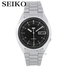 SEIKO Watch Shield 5 Business Double Calendar Strip Automatic Mechanical Male Watch SNXF11K1 SNK789K1(China)