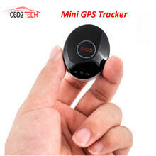10pcs a lot Mini GPS Tracker Car Tracking Device GPS Locator SOS for Kid Elderly Personal Pets APP Alarm GSM Card Built-in