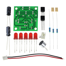 Voice Control LED Melody Light DIY Kits Production Suite Small Electronic Learning Electronic Kits.(China)