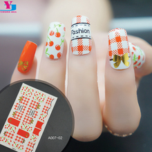 Hot Fashoin Nail Art Stickers Red Cherry Design Adesivi Unghie French Manicure Maquiagem Tattoo Decorations Nails Aaccessoires