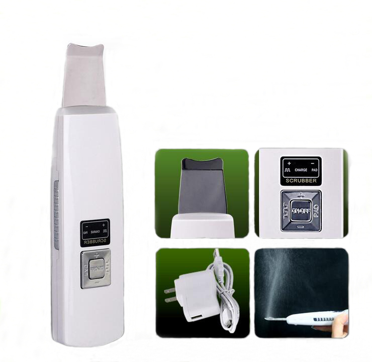Facial Cleaner Ultrasonic Pore Cleaning Deep Clean Face Peeling Blackhead Acne Removal Tool Skin Care Beauty Equipment Portable <br>