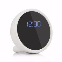 Free shipping smallest remote clock IP NETWORK WIFI SECURITY CCTV CAMERA  Support 32GB for home baby sitting wireless kids