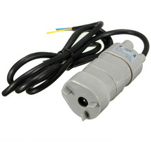 Water Pumps Salable 12V DC 1.2A 5M 14L/Min 600L/H 6-15V For solar Aquarium Three Core Micro Submersible Motor Water Pump