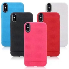 Honeycomb Soft TPU Case For Iphone X Silicone For IphoneX 5.8inch Dot Square Net Grid Fashion Leather Grain Gel Cover 20PCS