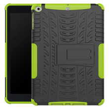 For Apple New iPad 2017 Release 9.7 inch Tough Impact Case Heavy Duty Armor Hybrid Anti-knock Silicon Hard Back Cover