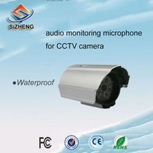 SIZHENG SIZ-190 Waterproof outdoor cctv audio microphone sound monitoring pickup for surveillance camera