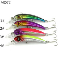 Shopping full $10 Can buy Pesca 9cm / 5.8G Bionic Baits Diving Minow  Carp Fly Fishing Lure Hard Bait Peche Pesca