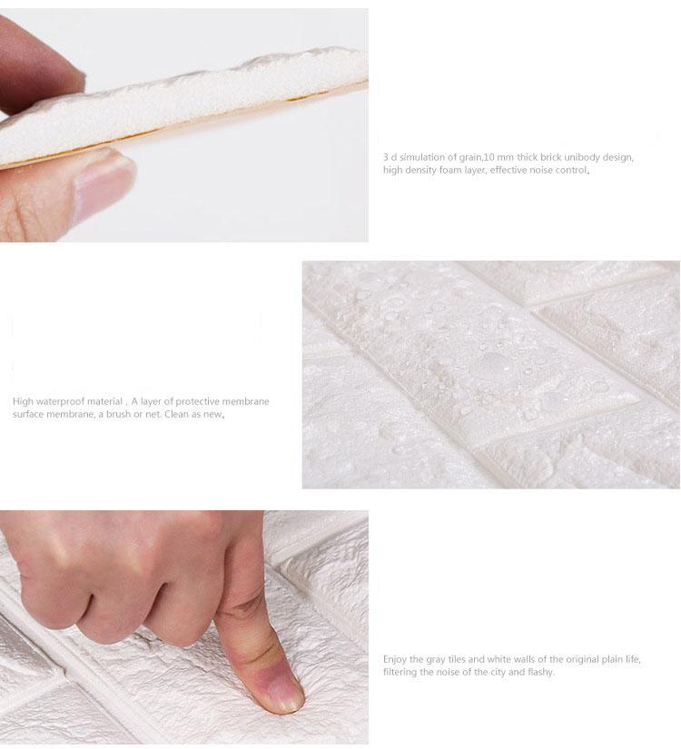 70x77cm-DIY-3D-Wall-Stickers-PE-Foam-Safty-Home-Decor-Wallpaper-Wall-Decor-Brick-Living-Room