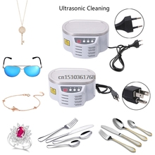 30W 50W Mini Ultrasonic Cleaner for Jewelry Watch Glasses Circuit Board CD Lens #Y05# #C05#