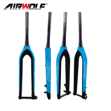 2017 MTB carbon fork 29er bicycle fork bicicleta mountain bike carbon front fork Tapered Thru Axle 15mm ultralight carbon fork(China)
