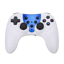 Wireless Bluetooth Game Controller Joypad with Receiver Gaming Gamepad Controller with Casing Cable for PS2 PS3 PC