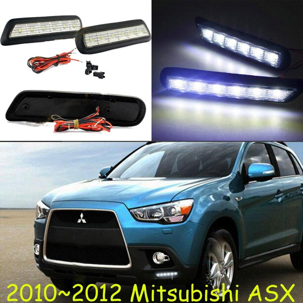 Car-styling,ASX daytime light,2013~2015,chrome,LED,Free ship!2pcs,car-detector,ASX fog light,car-covers,ASX headlight<br><br>Aliexpress