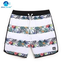 GL Brand 2016 New Summer Beach Men Shorts Mens Water Sportswear Quick Dry Plus Size Man Swimming Surf Board Shorts S-3XL