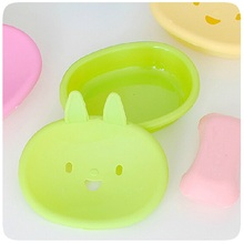 1pc Wholesale Bathroom Soap Dish Case Holder Container Soap Box Plate Home Storage Box Shower Soap Dish Tray