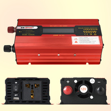 1000W Digital LCD Auto Car Power Inverter Converter Adapter Electronic RED