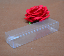 Size:2.8*4*14cm, pvc clear transparent box , plastic recycled box , clear pillow boxes(China)