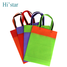 20 pieces Eco Reusable Shopping Bags Random Cloth Fabric Grocery Packing Recyclable Bag Simple Design Tote Handbag