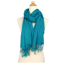 2017 Women Pashmina Scarf Shawl Wrap Stole Wool Spinning For Autumn Winter Warm Scarf