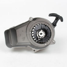 Pull Starter Aluminum for 44-6 engine 2 stroke 47cc 49cc air cooled mini pocket bike ATV Quad Mini dirt bike(China)