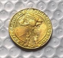Poland GOLD COIN COPY FREE SHIPPING