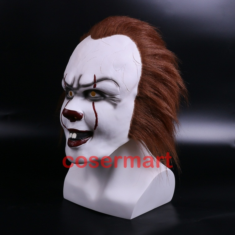 Halloween Pennywise Costume Stephen King IT 2 Scary Clown Man Cosplay Prop Girl Children Toy Trick or treat (3)