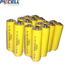 8Pcs AA Rechargeable Battery NiCd 1000mAh 1.2V Button Top Garden Solar NiCd Light(China)