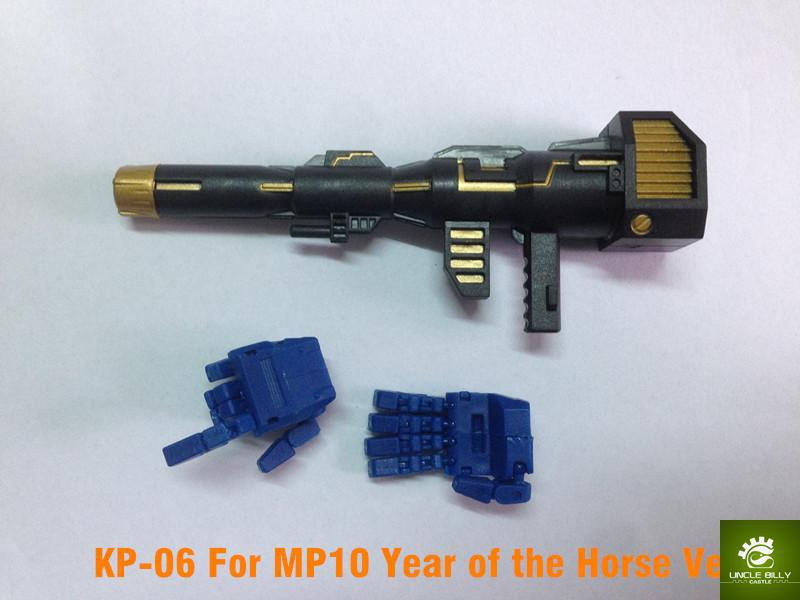 Keith Fantasy Club  KP-06 Hands and gun set for MP10 Year of the Hourse!<br><br>Aliexpress