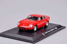 1/43 Mini Fashion Red Abarth Simca 2000 GT-1963 1:43 Scale Model Diecast Car Kids Toys Decoration Gift C