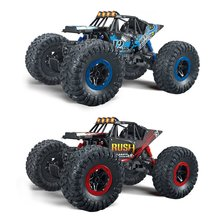 Buy Hot ! Electric RC Cars 1:16 4CH Off-Road Vehicles 2.4G High Speed SUV Car Damping Toy Car Mini Remote Car Racing Cars Kids Toys for $35.47 in AliExpress store