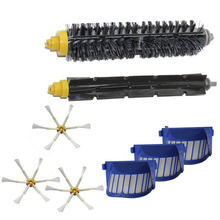 Top Quality can track AeroVac Filter,Side Brush,Bristle & Flexible Beater Brush for iRobot Roomba 600 610 620 625 630 650 660