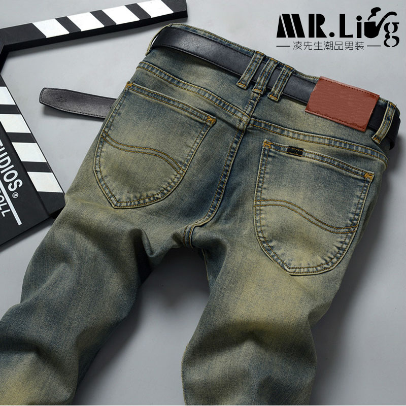 Pantalones Hombre Vaqueros Men Jeans Pants Slim Fit Robin Biker Jeans Mens Denim Joggers Skinny Jeans Homme  1293Одежда и ак�е��уары<br><br><br>Aliexpress