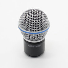 New Replacement Ball Head Mesh Microphone Grille with capsule for PGX24 SLX24 BETA58 Wireless Microphone